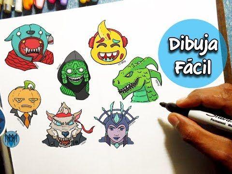 7 Dibujos De Fortnite Faciles De Dibujar Dibustrador Art Youtube Dibujos Faciles Proyectos De Dibujo Dibujos