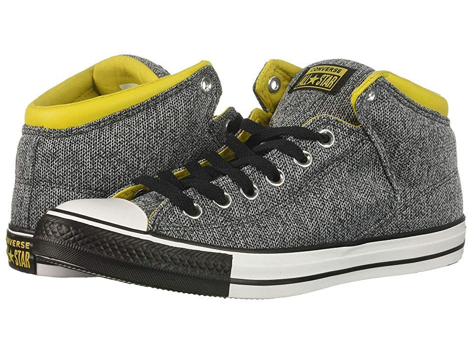 8bd3638f23a0 Converse Chuck Taylor(r) All Star(r) High Street Hi (Almost Black Vivid  Sulfur White) Men s Classic Shoes. Make some noise with the Converse Chuck  Taylor ...