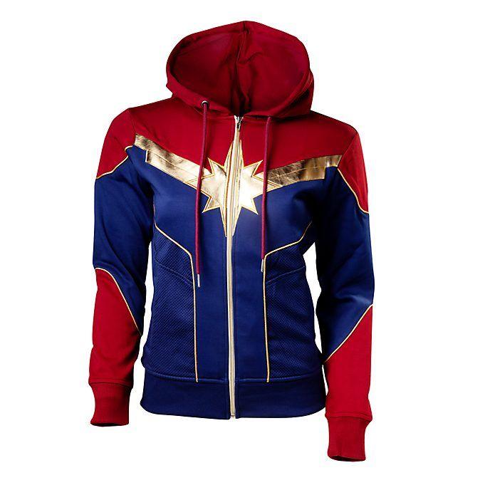 Disney Store Sweat à capuche déguisement Captain Marvel pour