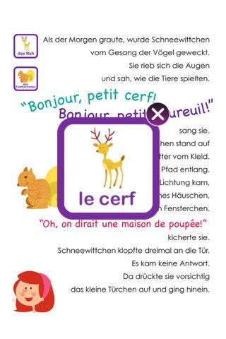 Französisch mit Spaß: helps german-speaking kids learn french