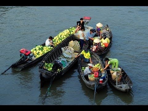 Cai Rang - Phong Dien floating markets: a must see in #Mekong Delta, #Vietnam