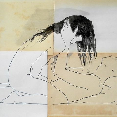 """""""Lovers"""" by Loui Jover  http://www.artparasites.com/recommended/sexting-tips-friedrich-nietzsche-1445"""