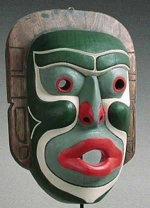 Kwakiutl Indian Mask Pacific Northwest Coast North America By