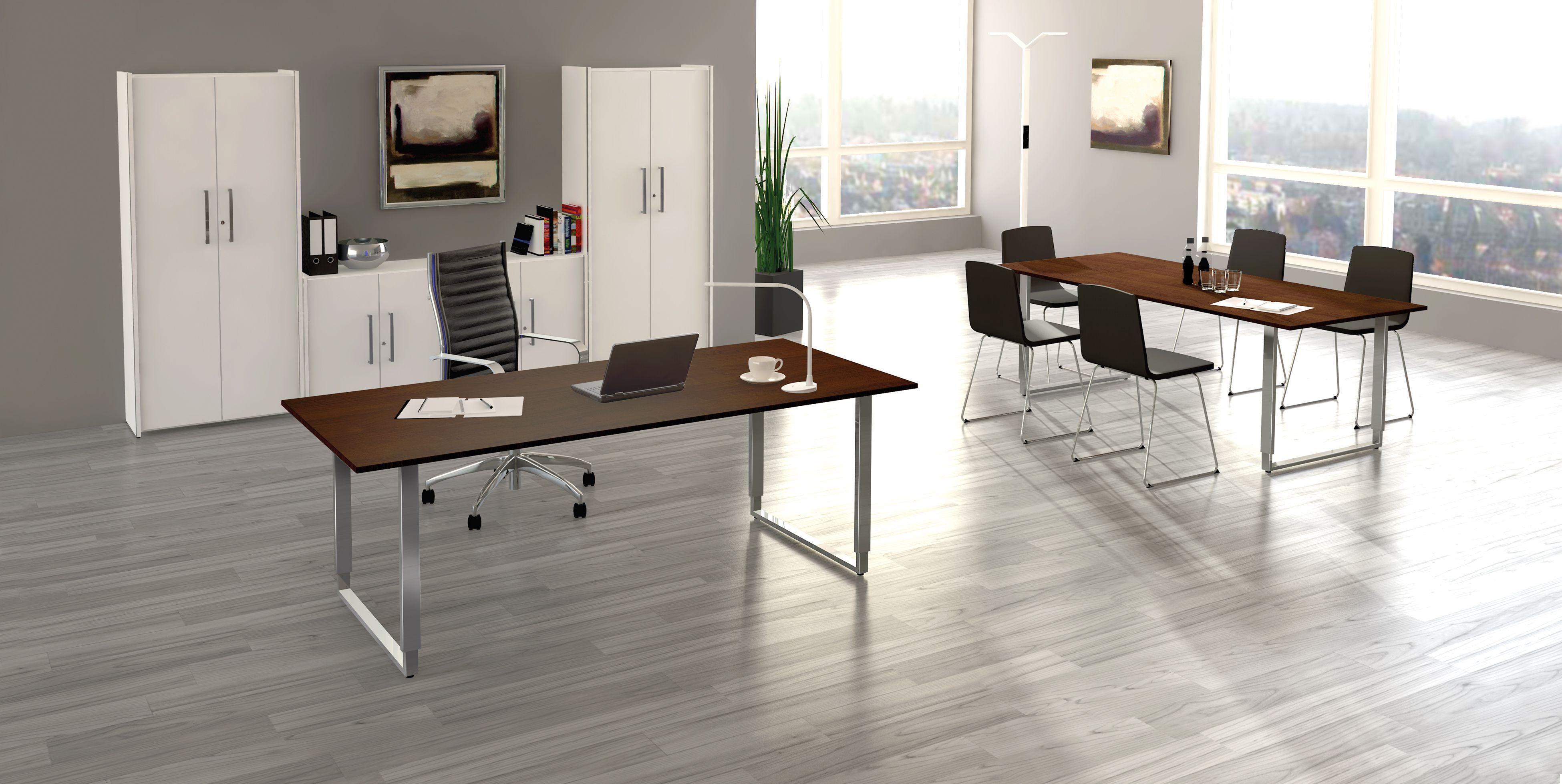 Liebenswert Büro Ideen Das Beste Von Schreibtisch Palermo Aus Holz/edelstahl | Klassiker Direkt