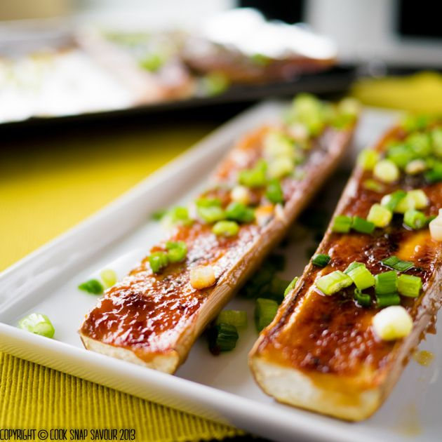 Japanese Miso-Glazed Eggplant is an ideal entrée vegetable dish—protein doesn't always need to take center stage.