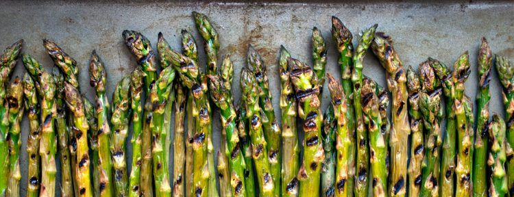 Photo of Josh Capon's Grilled Asparagus | LIVE with Kelly and Ryan