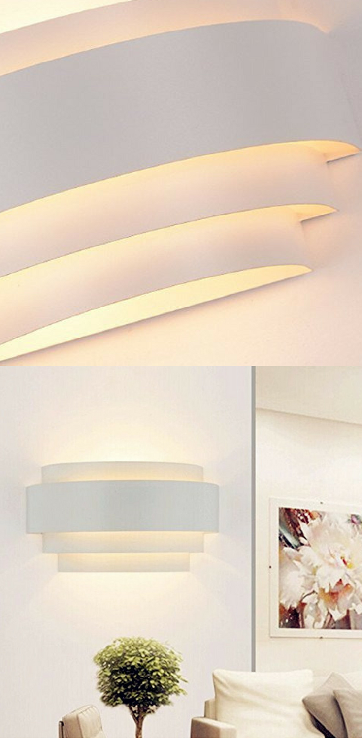 Unimall LED Wall Lights Up Down Beside Wall Sconce E27 Lamp for ...