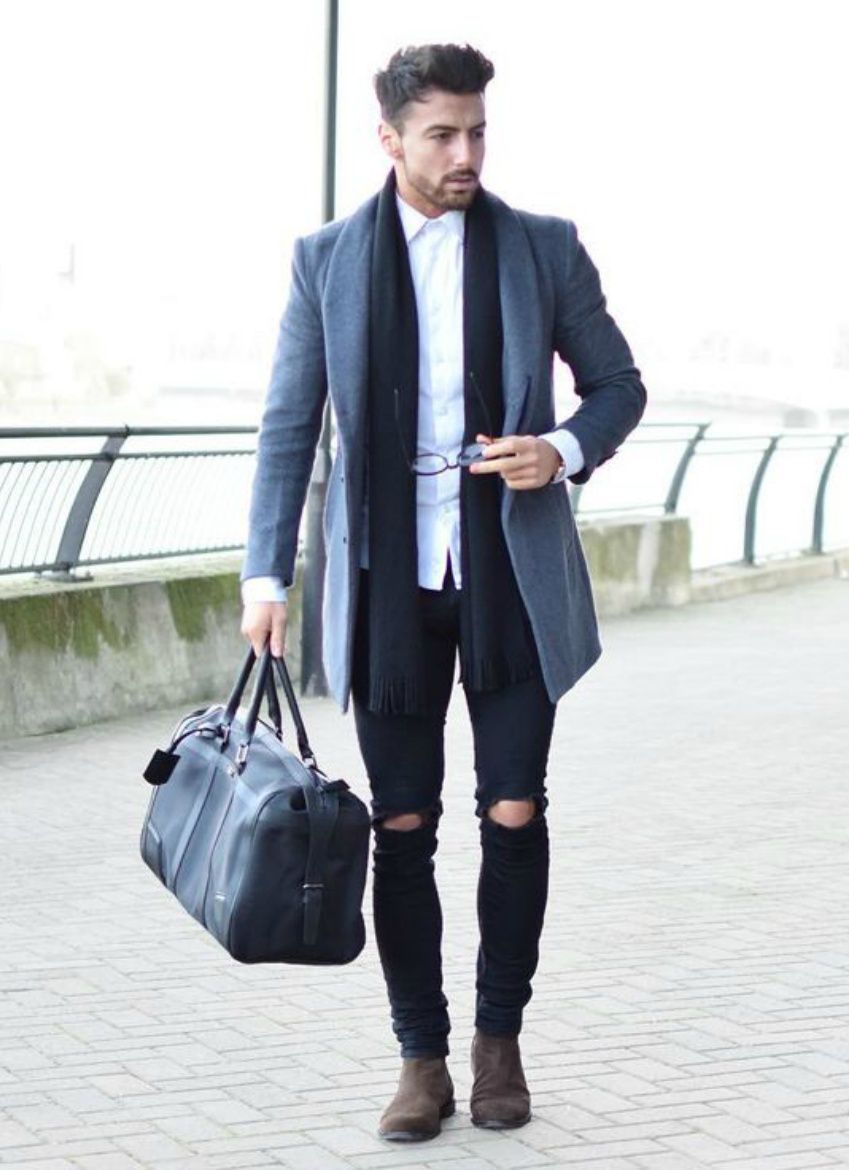 how to dress smart in winter  mens fashioncat