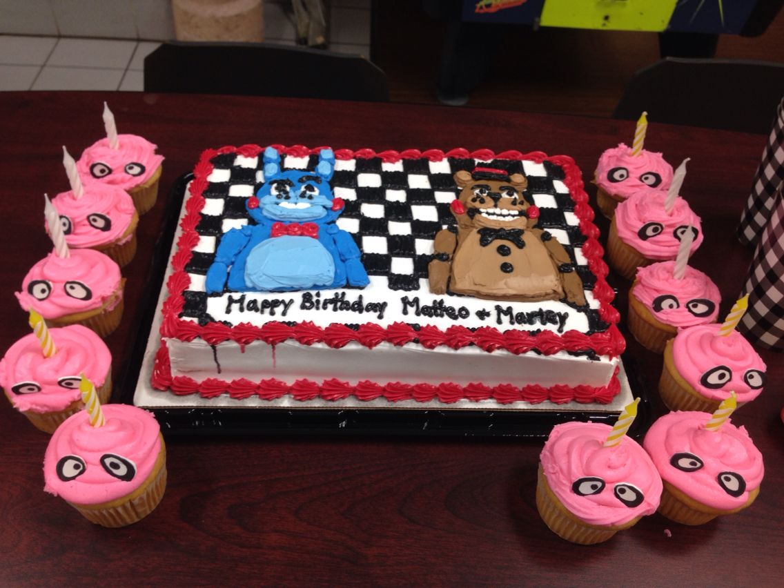 The Fnaf Cake I Wanted Was Quoted At 200 So Walmart Made This One