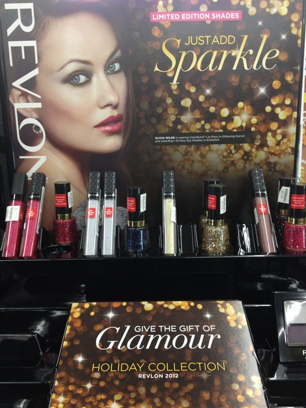 Photo of Revlon Just Add Sparkle for Holiday 2012 – Mu