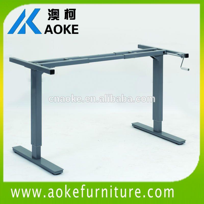Ningbo AOKE fabrication manivelle hauteur réglable pied de table