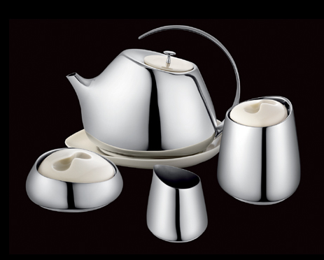 Georg Jensen Helena tea set. In stock now at #orjewellers #teaparty #teafortwo