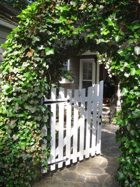 High Quality Garden Gate Idea. Ivy Arbor And Simple Gate. Low Maintenance, Understated,  And