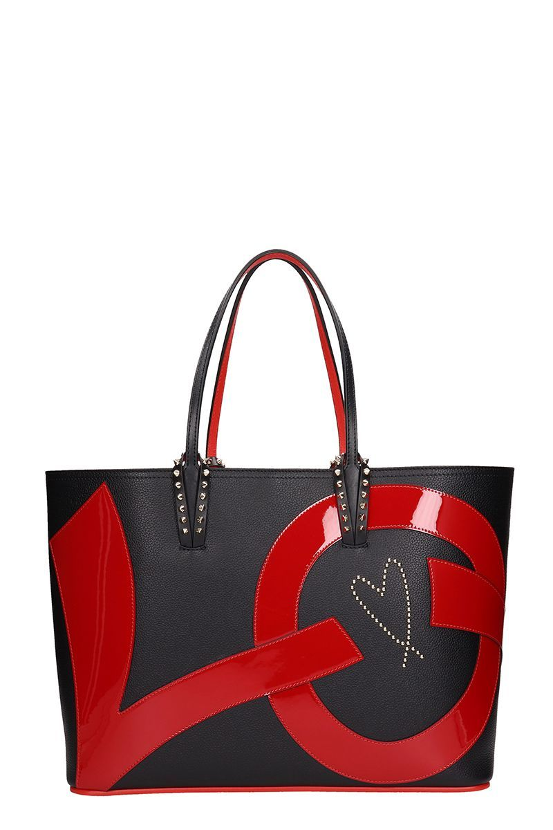 CHRISTIAN LOUBOUTIN CABATA LOVE TOTE BAG.  christianlouboutin  bags   leather  hand bags  pvc  tote 3dbfa6cdec