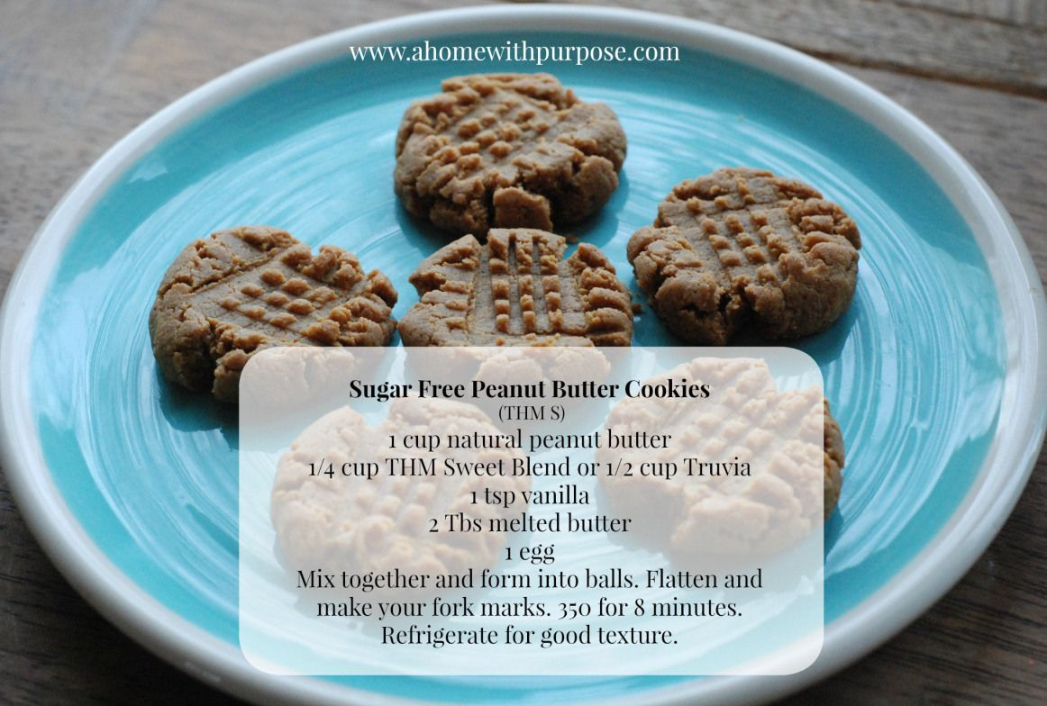 peanut butter cookies- could replace the peanut butter with almond butter or sunflower butter.