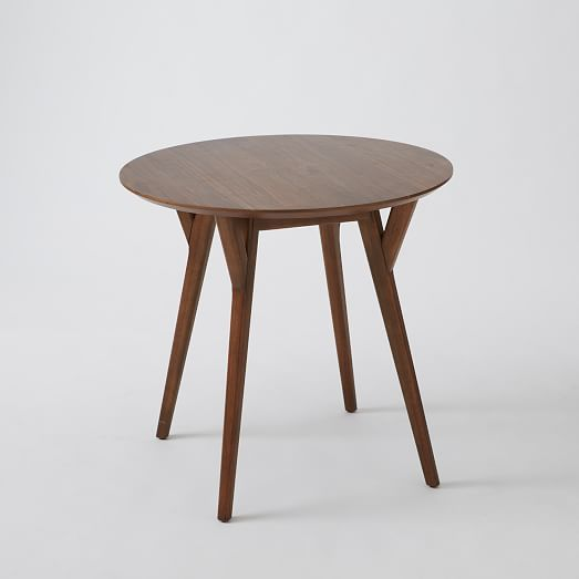 Mid Century Bistro Table West Elm Ny Apartment Table Dining