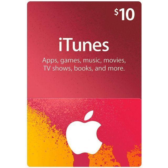 Photo of iTunes Card (USD 10 / for US accounts only)
