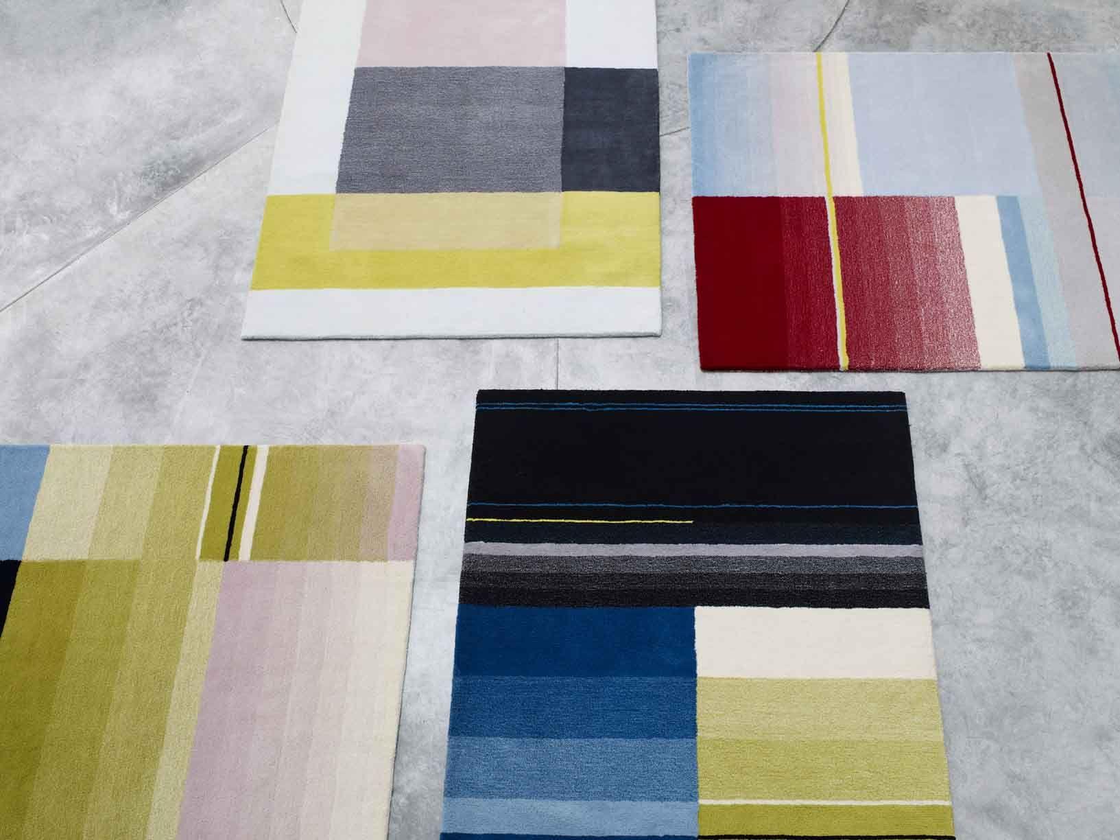 Rabari Vloerkleden Nanimarquina : Colour carpet scholten & baijings hay project bergstraat