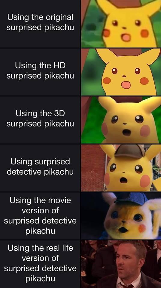 2 Twitter Pikachu Memes Pikachu Photoshop Battle