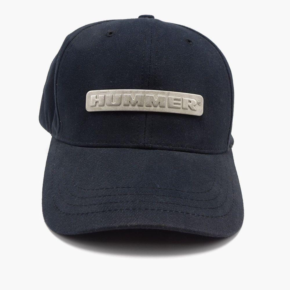 Hummer GMC Strapback Cap Hat - Metal Name Plate Front Logo - Structured  front  BurstonMarketing  BaseballCap 4fe539c5586e