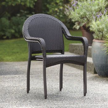 Costco At Leisure Woven Stackable Chair 4 Pack Stackable