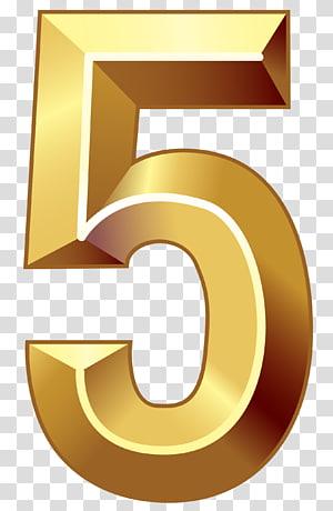 Number Gold Number Five Yellow 5 Illustration Transparent Background Png Clipart Clip Art Transparent Background Png
