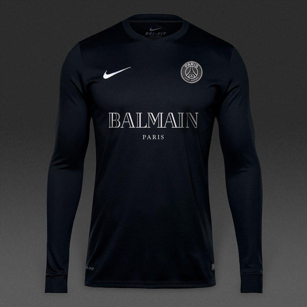 Psg black and pink jersey - Balmain X Psg Long Sleeve Jersey 70the Balmain X Psg Long Sleeve Kit Is Made