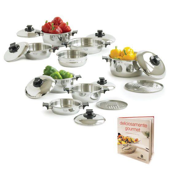 Juego gourmet 17 piezas nuestro juego m s completo for Utensilios de cocina gourmet