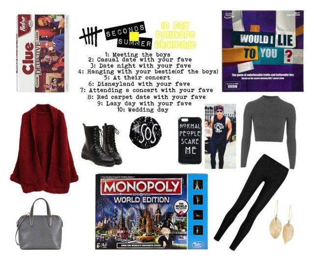 """""""10 Day 5SOS Challenge - Day 4"""" by hh18hh ❤ liked on Polyvore featuring Topshop, Donna Karan, Valextra, Lulu*s, women's clothing, women, female, woman, misses and juniors"""