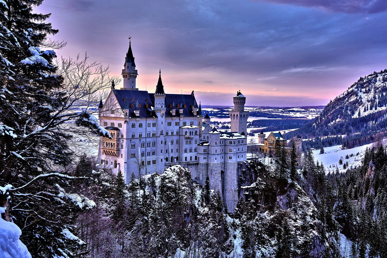 My House Beautiful Castles Neuschwanstein Castle Castle Pictures