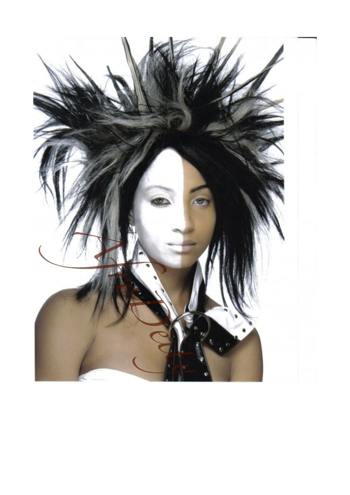 our resident model nik in her modelling days. http://store.afrodeity