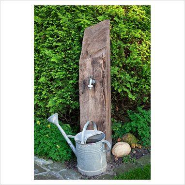 Garden Faucet Stands | Water garden