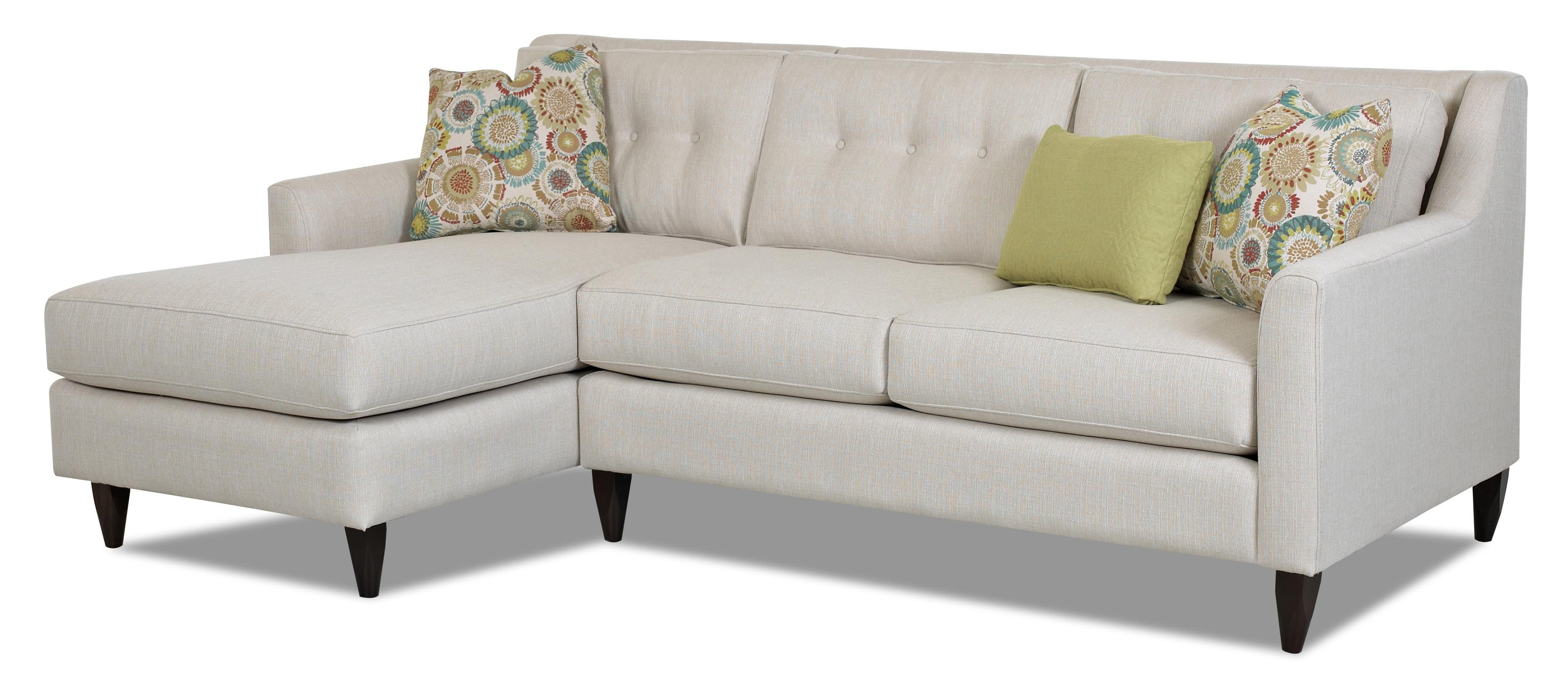 Chazy Contemporary 2 Piece Sectional Sofa by Klaussner