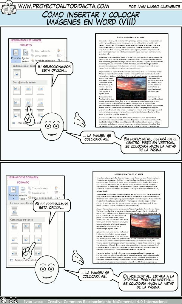Cómo Insertar Y Colocar Imágenes En Word Parte 2 Clase De Informática Informatica Y Computacion Aprender Informatica