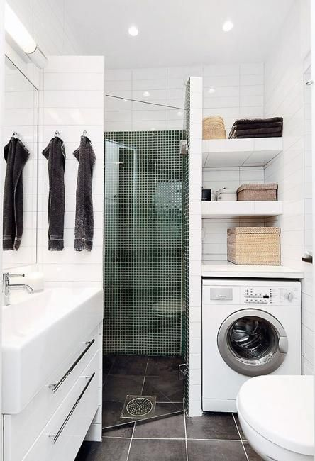 10 Best Home Staging Tips For Small Rooms To Use Available Spaces Efficiently Laundry In Bathroom Laundry Bathroom Combo Small Bathroom Remodel