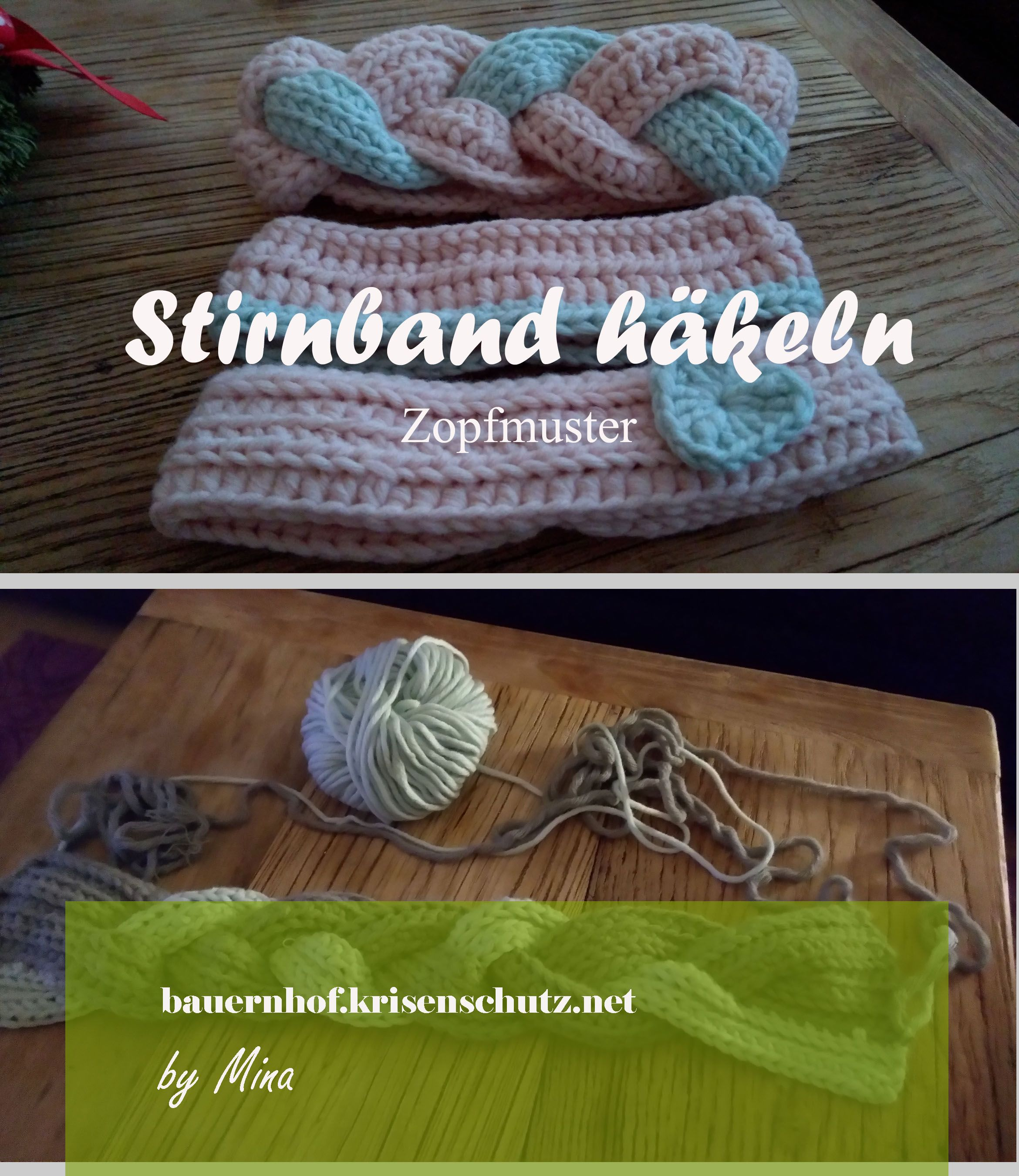 Nice Häkelarbeitwinter Stirnband Muster Frei Festooning - Decke ...