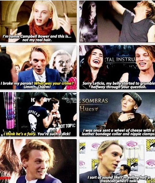 Jamie Campbell Bower love this guy
