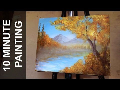 Acrylic Landscape Painting Lesson Stairway To Flower Garden By