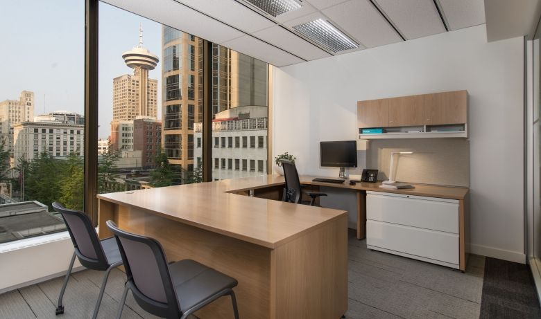 Interior design of Cadillac Fairviews Vancouver office by award