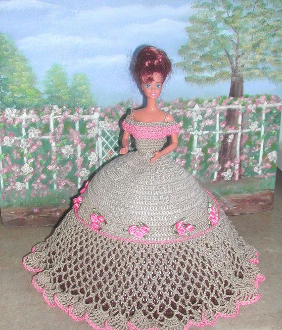 Crochet Fashion Doll Barbie Pattern- #554 STARLIGHT | Barbie ...