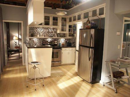 Dexter Kitchen Refrigerator Cabinets Movie Tv Houses Apartment Interior