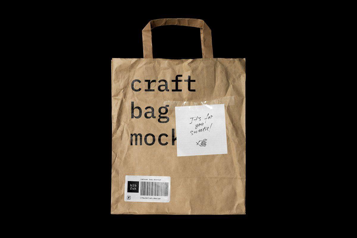 Download Canvas Bag Mockup Bag Mockup Free Packaging Mockup Craft Bags
