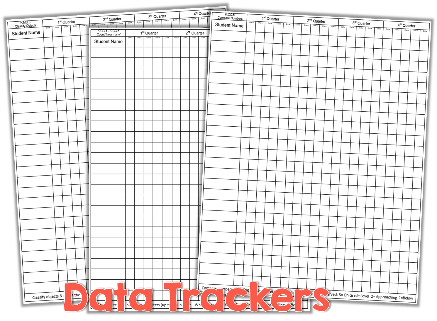 Teacher Friendly Data Collection {freebie