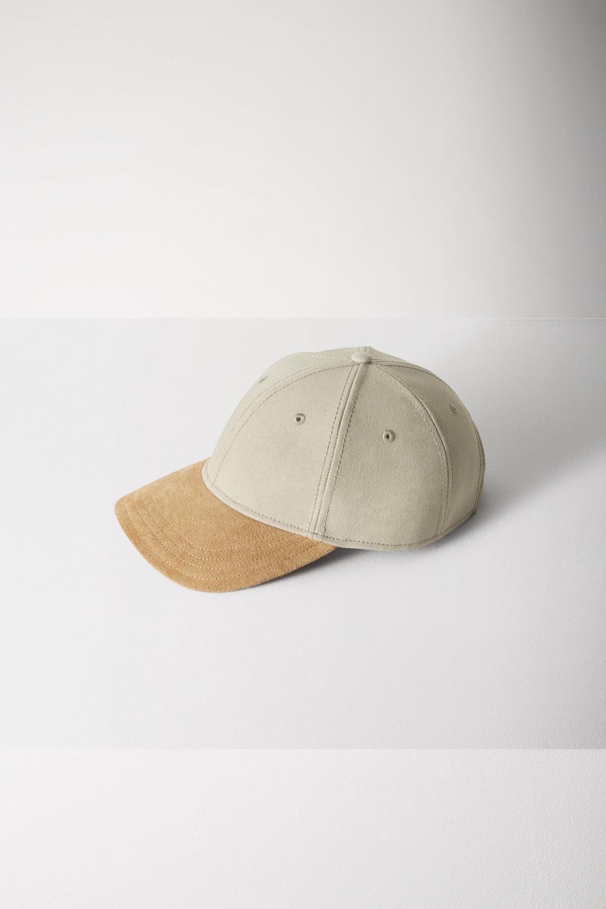 Shop The Suede Brim Baseball Cap On Rag Bone Brim Mens Accessories Baseball Cap