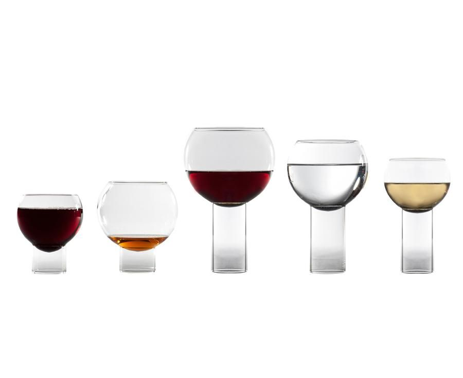 Inspired By Small Bistro Wine Glasses, Small Tulip Glass
