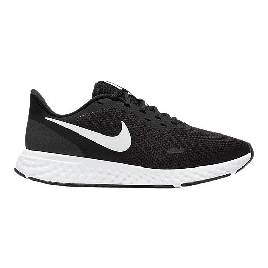 Nike Women's Revolution 5 Wide Width Running Shoes Black