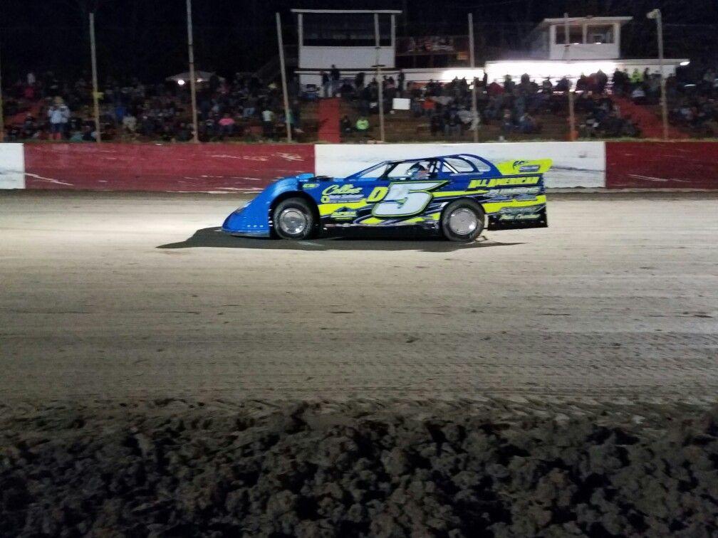 Dirt Track Racing Drew Collins from Auburn GA at