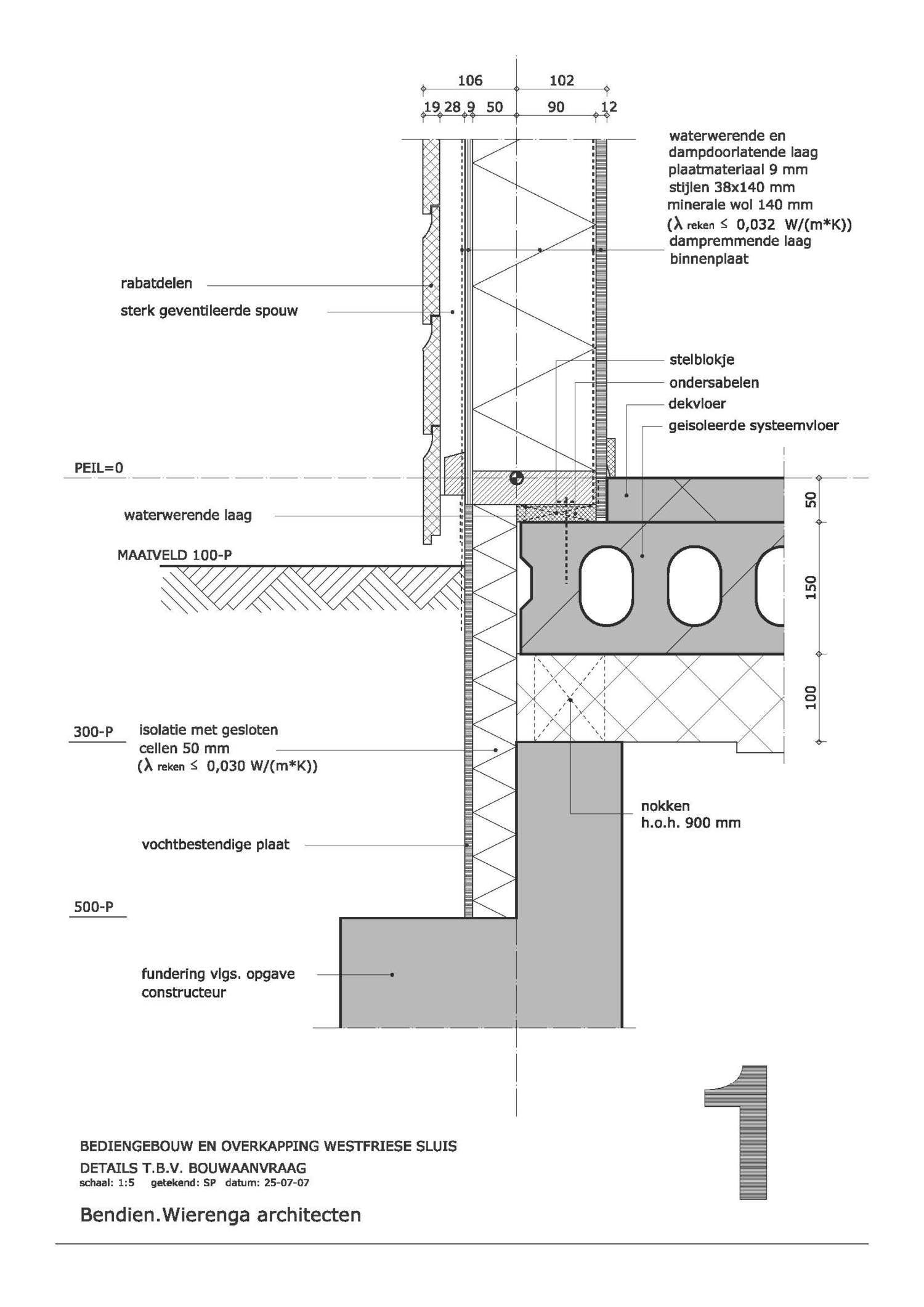 Detail Utiliteitsbouw Bouwaanvraag Jpg Drawing