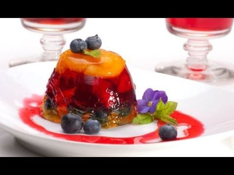 طريقة عمل جيلى المانجو مع فاكهة الموسم Desserts Food Healthy Desserts