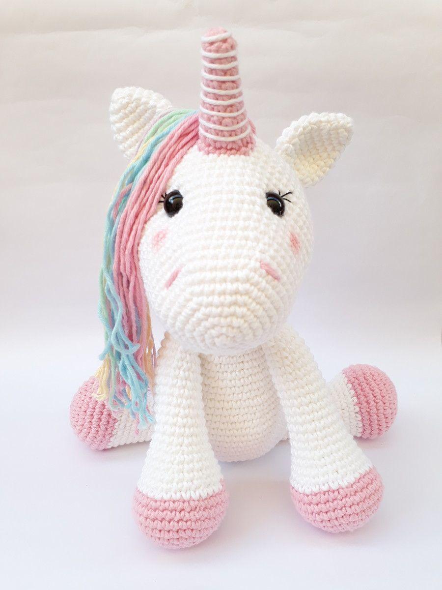 Amigurmi Receitas Unicornio   Unicórnio de crochê, Bonecas de ...   1200x900